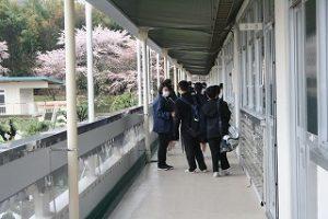 生徒の様子の写真