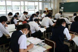 授業中の写真